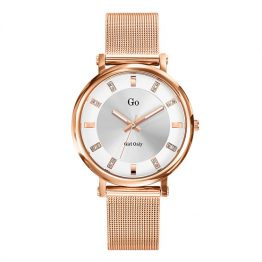 Girl Only Damen-Armbanduhr in Rosé