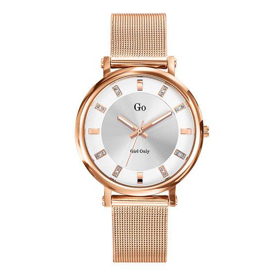 Girl Only Damen-Armbanduhr in Rosé