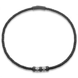 Steelwear Herren Halskette Leder