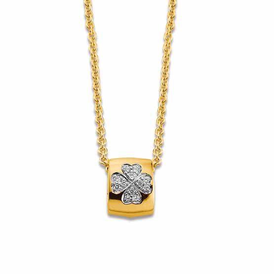 Viventy Collier gelb vergoldet 779018