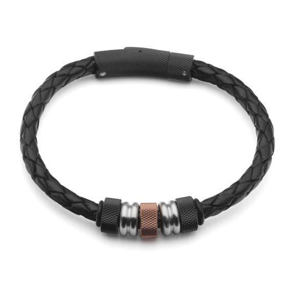 Steelwear Herren Armband Leder