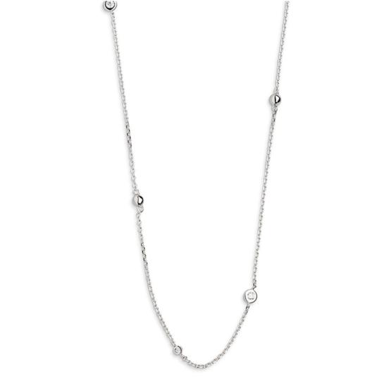 Xenox Damen Halskette Basic Zirkonia XS3829