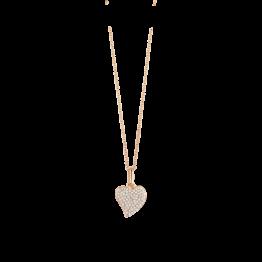 Spirit Icons Herz Sparkling Collection Roségold vergoldet mit Zirkonia gefasst 10044-45