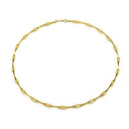 Boccia Titan Collier Gelb vergoldet