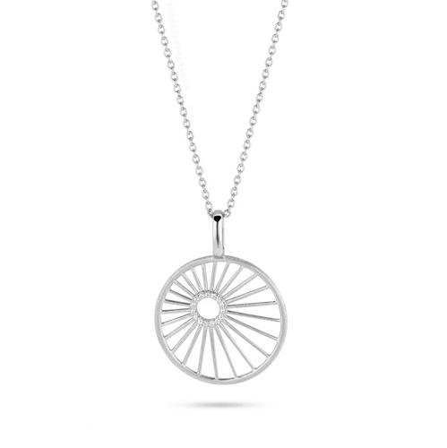 Spirit Icons Halskette Aura Silber