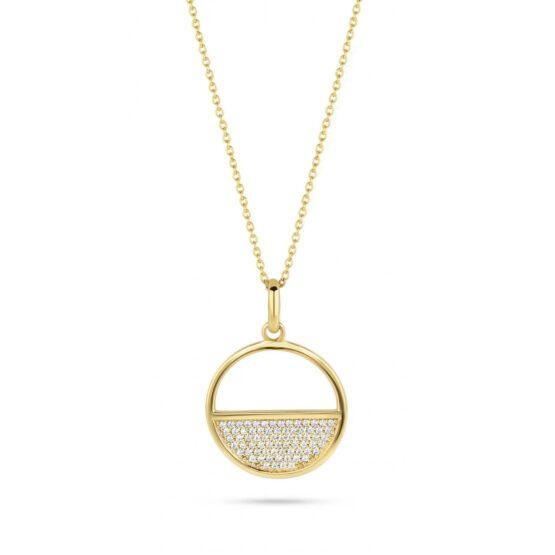 Spirit Icons Halskette Blues Silber Gelbvergoldet