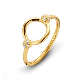 Spirit Icons Ring Perfection Gelb Vergoldet