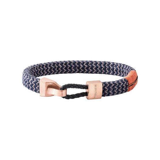 Police Armband Skardu aus Nylon Blau/Grau